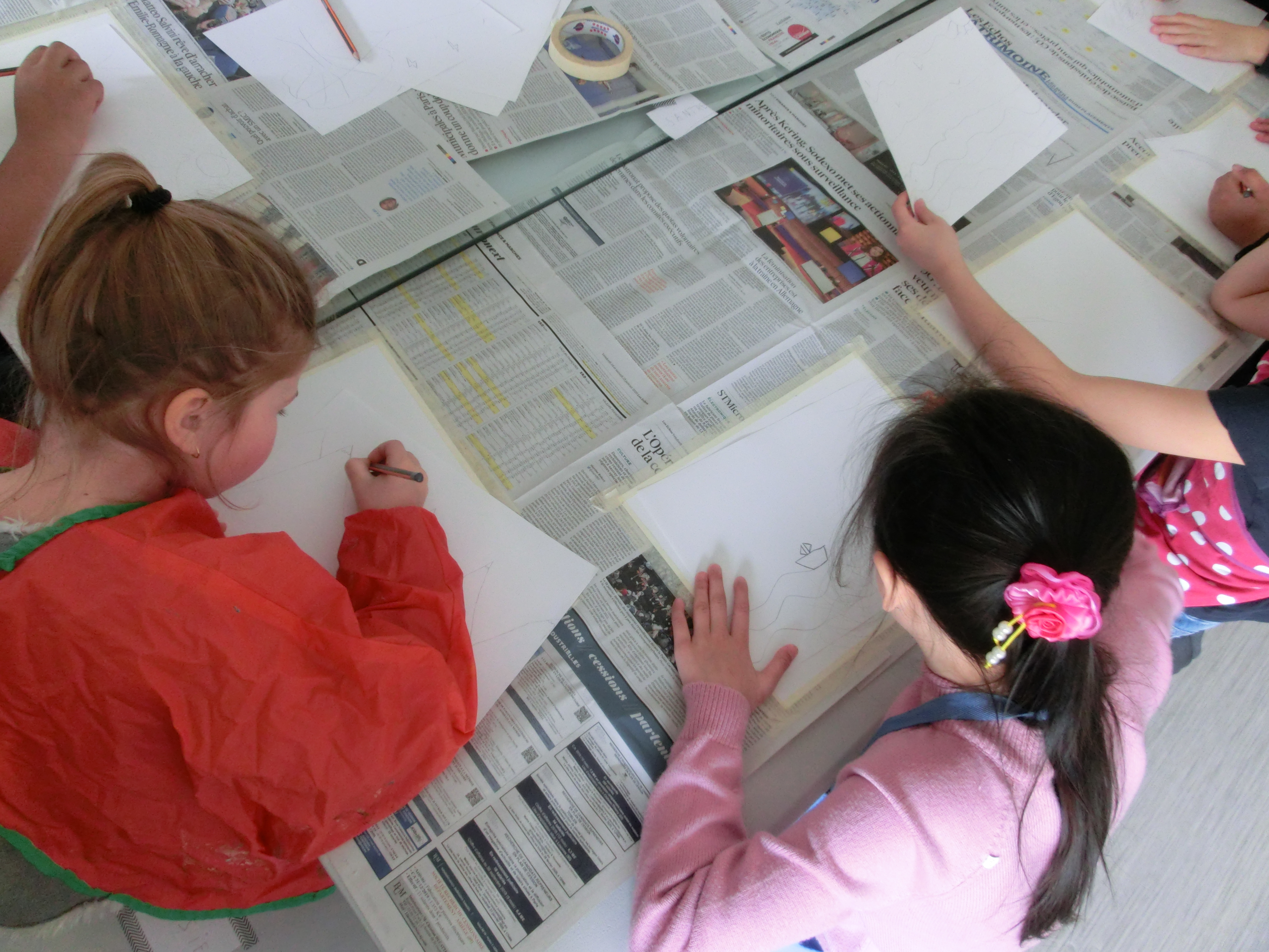 atelier paysage anniversaire créatif enfant 1
